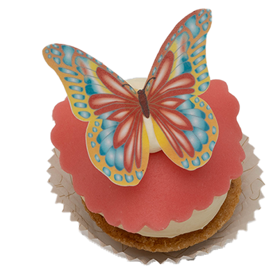 Kindergebak vlinder