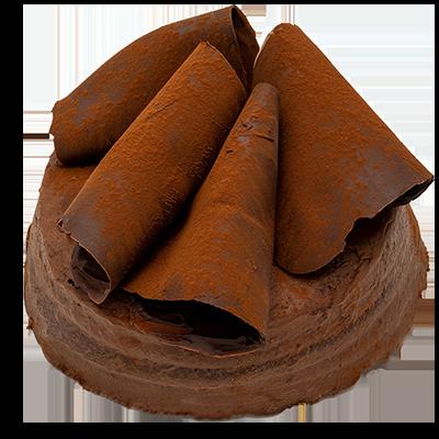 Chocolade taart (19 cm)
